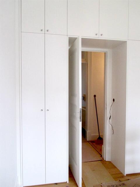 Roupeiro - Quarto - Depois - Apartamento av. Almirante Reis - Lisboa