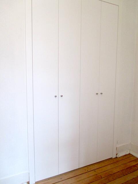 Roupeiro fechado - Depois - Apartamento av. Almirante Reis - Lisboa