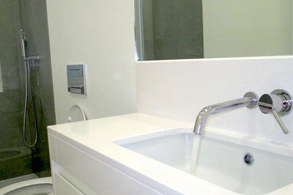 Lavatório - WC - Depois - Apartamento av. Almirante Reis - Lisboa