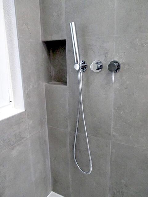 Chuveiro - WC - Depois - Apartamento av. Almirante Reis - Lisboa