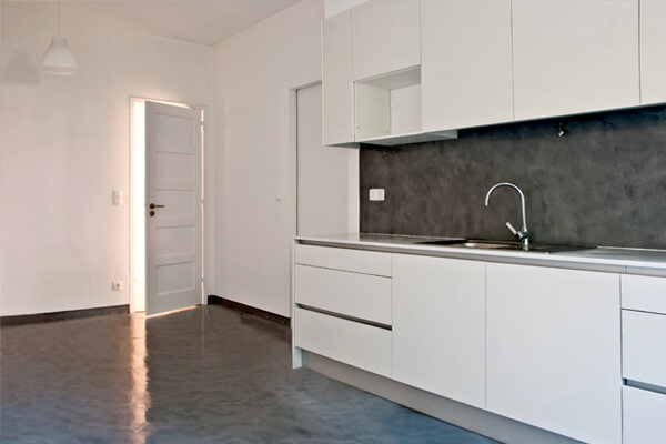 Armários - Cozinha - Depois - Apartamento av. Paris - Lisboa
