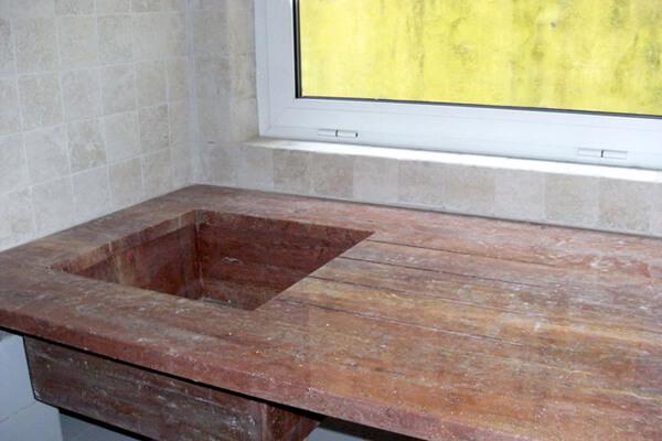 Pormenor cozinha - Antes - Museu Oficina Alfama - Lisboa