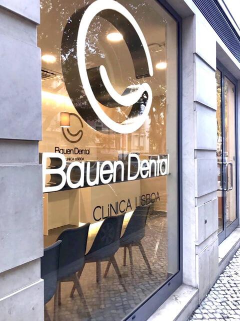 Entrada Clínica Dentária - Bauen Dental - Lisboa - slider