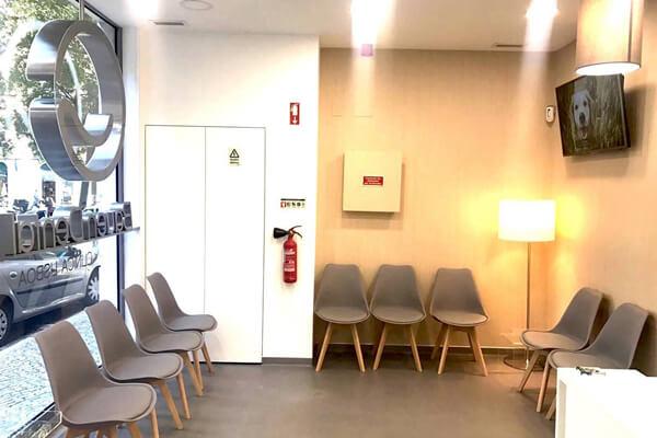 Sala de estar - Clínica Dentária - Bauen Dental - Lisboa