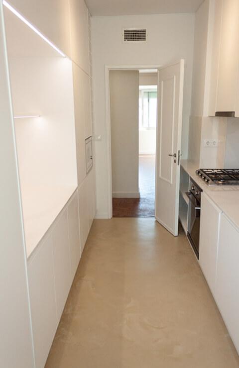 Cozinha - Depois - Apartamento Campo de Ourique - Lisboa