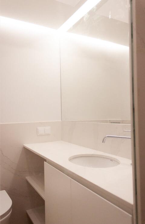 Lavatório - Depois - Apartamento Campo de Ourique - Lisboa