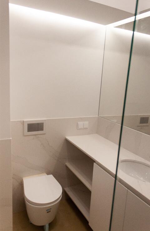 Casa de banho - Depois - Apartamento Campo de Ourique - Lisboa