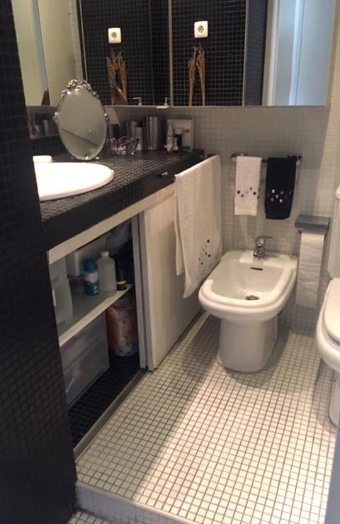 Casa de banho - Apartamento Campo de Ourique - Lisboa